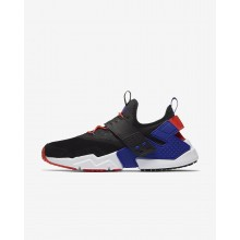 Chaussure Casual Nike Air Huarache Drift Premium Homme Noir/Orange 138VSREZ