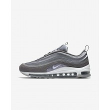 Womens Atmosphere Grey/Gunsmoke/Summit White Nike Air Max 97 Ultra 17 LX Lifestyle Shoes 141XAQKV