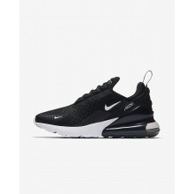 Womens Black/White/Anthracite Nike Air Max 270 Lifestyle Shoes 175GEDYW