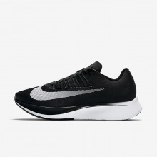 Womens Black/Anthracite/Wolf Grey/White Nike Zoom Fly Running Shoes 182CELGO