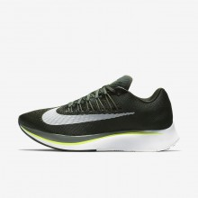 Mens Sequoia/Medium Olive/Dark Stucco/White Nike Zoom Fly Running Shoes 187VQPXE