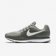 Womens Dark Stucco/Sequoia/Black/Barely Grey Nike Air Zoom Pegasus 34 Running Shoes 209WLCGH