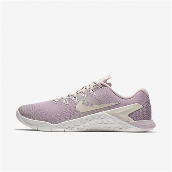 Womens Particle Rose/Summit White/Opal Nike Metcon 4 Training Shoes 211QRYJE