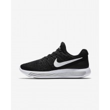 Womens Black/Anthracite/White Nike LunarEpic Low Flyknit 2 Running Shoes 219MSZLY