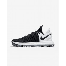 Nike Zoom KDX Basketball Shoes For Women Black/White 234TLKYX