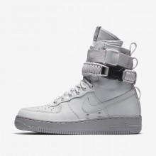 Nike SF Air Force 1 Lifestyle Shoes For Women Vast Grey/Atmosphere Grey 250PGREN