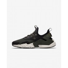 Nike Air Huarache Drift Lifestyle Shoes For Men Sequoia/Black/White/Light Bone 295VYKNP