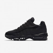 Womens Black Nike Air Max 95 OG Lifestyle Shoes 307PGAJE