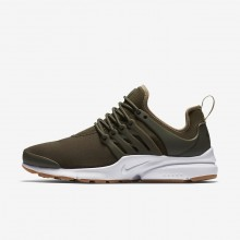 Nike Air Presto Lifestyle Shoes For Women Cargo Khaki/Neutral Olive/Gum Light Brown 329KJRYN