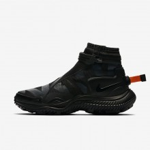 Mens Black/Anthracite/Team Orange Nike Gaiter Lifestyle Shoes 357YBHXI