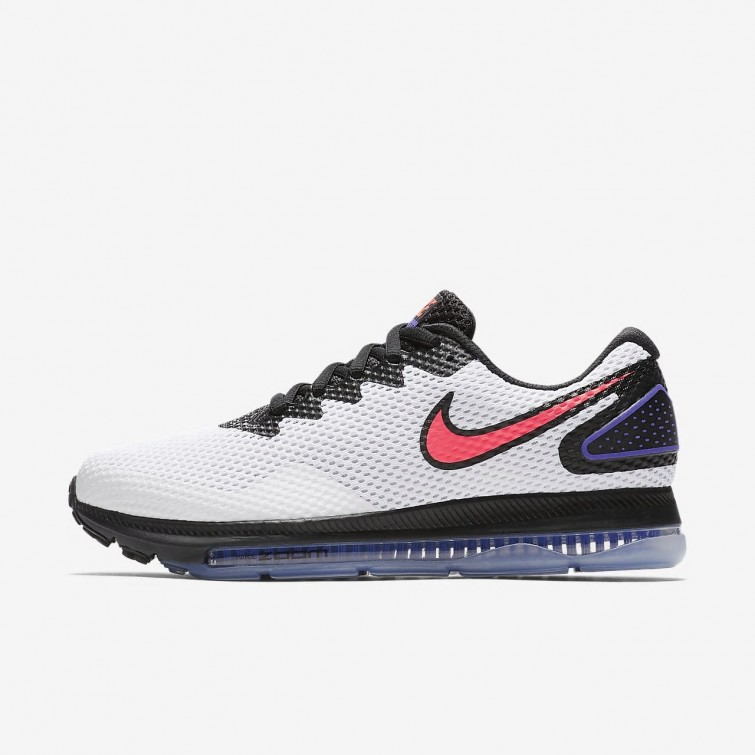 Zapatillas Running Nike Zoom All Out Low 2 Mujer Blancas