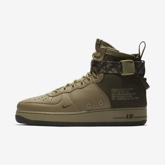Outlet Zapatillas Casual Nike SF Air Force 1 Hombre Obsidian