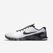 Mens White/Sail/Black Nike Metcon 4 Training Shoes 370UQCOZ