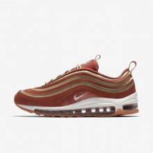 Womens Dusty Peach/Bio Beige/Summit White Nike Air Max 97 Ultra 17 LX Lifestyle Shoes 390LIGJK