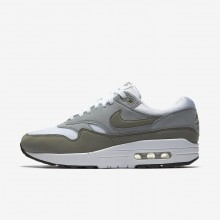 Nike Air Max 1 Lifestyle Shoes For Women White/Light Pumice/Black/Dark Stucco 391SNBMU