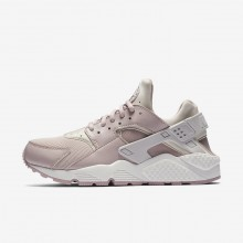 Nike Air Huarache Lifestyle Shoes For Women Vast Grey/Summit White/Particle Rose 399BQUPN