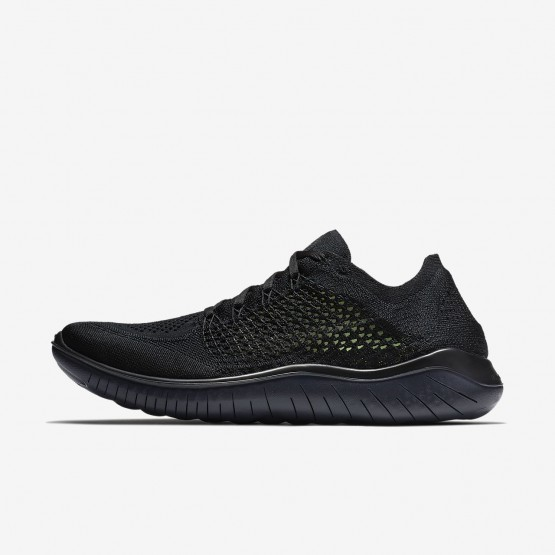Nike Free RN Flyknit 2018 Running Shoes For Men Black/Anthracite 422PXARB