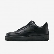 Nike Air Force 1 07 Lifestyle Shoes For Women Black 427JIXBD