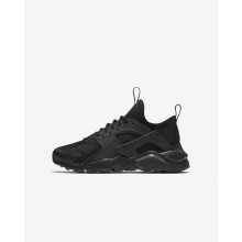 Nike Air Huarache Ultra Lifestyle Shoes For Boys Black 437DSBFK