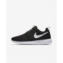 Chaussure Casual Nike Roshe One Femme Noir/Grise Foncé/Blanche 444UQVWL