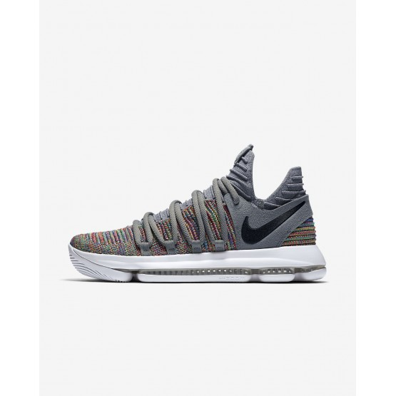 Nike Zoom KDX Basketball Shoes For Women Multi-Color/Cool Grey/White/Black 498YMOBP
