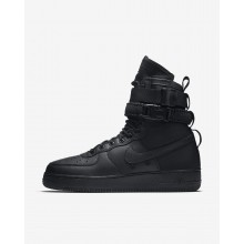 Mens Black Nike SF Air Force 1 Lifestyle Shoes 547EQDFP