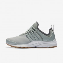 Womens Light Pumice/Gunsmoke/Gum Light Brown Nike Air Presto Lifestyle Shoes 573LZCBN