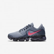 Nike Air VaporMax Running Shoes For Girls Dark Sky Blue/Thunder Blue/Midnight Navy/Racer Pink 584VJRAI