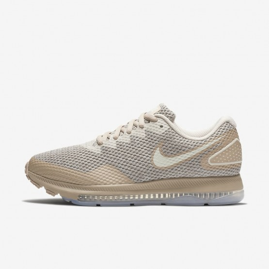 Womens Moon Particle/Sand/Sail Nike Zoom All Out Low 2 Running Shoes 592XTENY