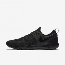 Womens Black/Dark Grey Nike Free TR7 Training Shoes 618GHVPK