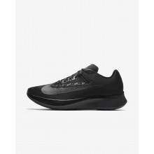 Mens Black/Anthracite Nike Zoom Fly Running Shoes 630VSUKE
