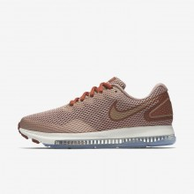 Nike Zoom All Out Low 2 Running Shoes For Women Dusty Peach/Particle Pink/Metallic Red Bronze 645QILMF
