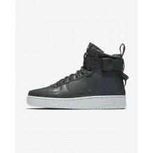 Nike SF Air Force 1 Mid Lifestyle Shoes For Women Outdoor Green/Light Pumice 662HOZTP