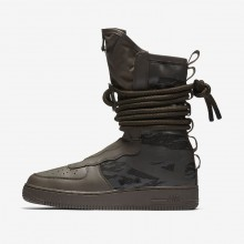 Nike SF Air Force 1 Hi Lifestyle Shoes For Men Ridgerock/Sequoia/Black 665VORNS
