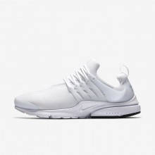 Nike Air Presto Essential Lifestyle Shoes For Men White/Black 678TDBJI