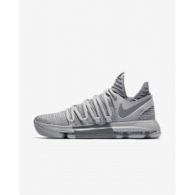 Nike Zoom KDX Basketball Shoes For Women Wolf Grey/Cool Grey 678UOGYA