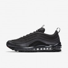 Mens Black/Metallic Hematite/Dark Grey/Anthracite Nike Air Max 97 Lifestyle Shoes 694FQLOX
