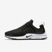 Nike Air Presto Essential Lifestyle Shoes For Men Black/White 697EZYAB