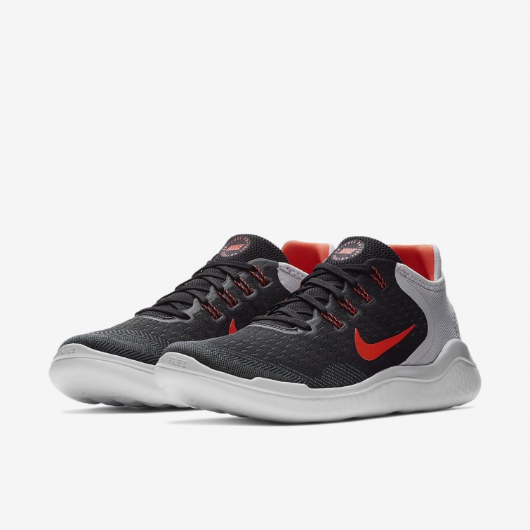 Chaussure Running Nike Free RN 2018 Homme NoirGriseBlanche