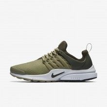 Nike Air Presto Essential Lifestyle Shoes For Men Neutral Olive/Cargo Khaki/Black 707PGEJW