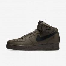 Chaussure Casual Nike Air Force 1 Mid 07 Homme Noir 715SAXPH