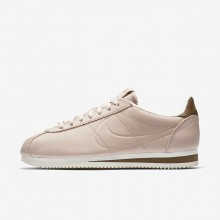 Womens Particle Beige/Orange Quartz/Sail Nike x Maria Sharapova Classic Cortez LA Lifestyle Shoes 729BKWSV