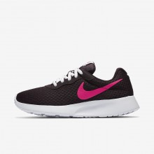 Nike Tanjun Lifestyle Shoes For Women Port Wine/White/Deadly Pink 734RVXFO