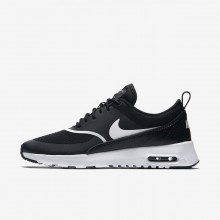 Nike Air Max Thea Lifestyle Shoes For Women Black/White 778AFGQY