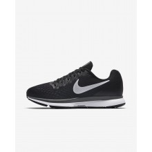 Womens Black/Dark Grey/Anthracite/White Nike Air Zoom Pegasus 34 Running Shoes 782SZEOU