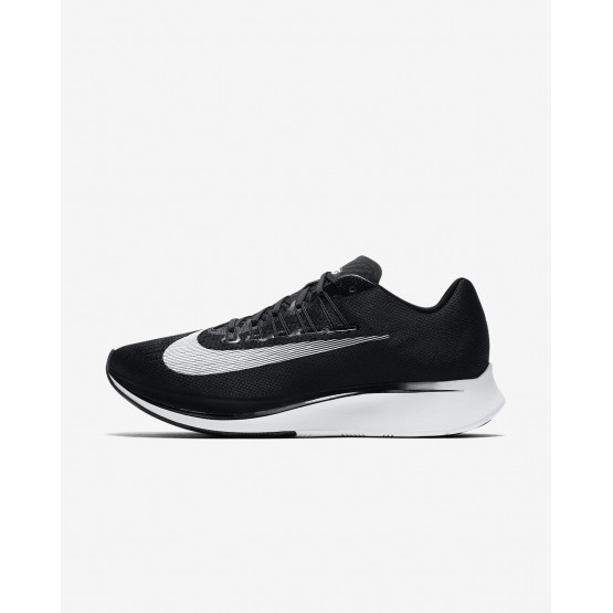 Mens Black/Anthracite/White Nike Zoom Fly Running Shoes 810JEXQC