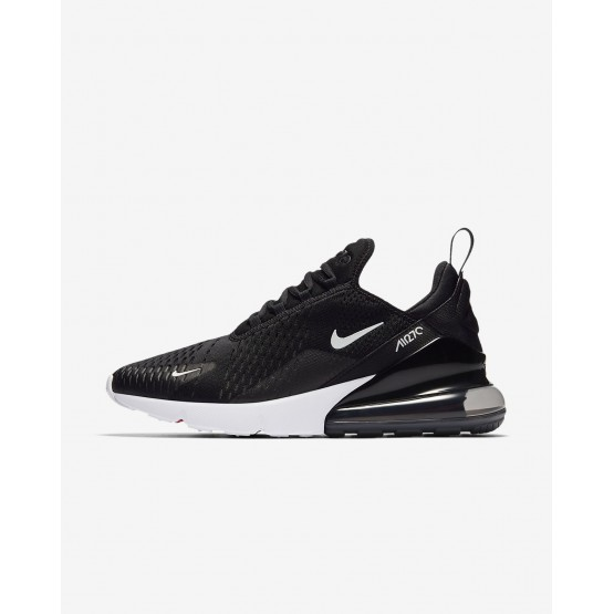 Mens Black/White/Solar Red/Anthracite Nike Air Max 270 Lifestyle Shoes 817HUCOL