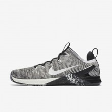 Nike Metcon DSX Flyknit 2 Training Shoes For Men Matte Silver/Light Silver/Sail 823FIHRP