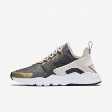 Nike Air Huarache Ultra SE Lifestyle Shoes For Women Light Orewood Brown/Blur/Black 841WDULF