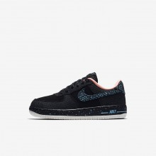 Nike Air Force 1 Pinnacle QS Lifestyle Shoes For Boys Black/Crimson Pulse/Summit White/Lagoon Pulse 853TXASG
